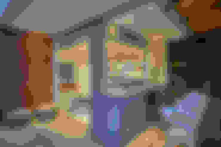Apartamento | Cobertura: Terraços  por Piacesi Arquitetos