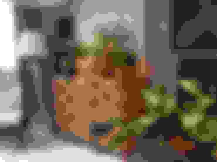 projetos: Salas de estar  por Aline Santa Rosa   Arquitetura e Interiores