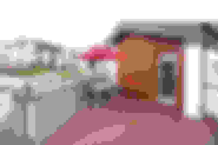 Terraços  por 주택설계전문 디자인그룹 홈스타일토토