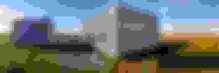 VIVIENDA MS: Casas de estilo  por riverorolnyarquitectos