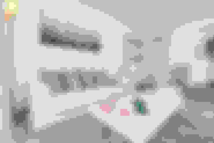 غرفة المعيشة تنفيذ Espacios y Luz Fotografía