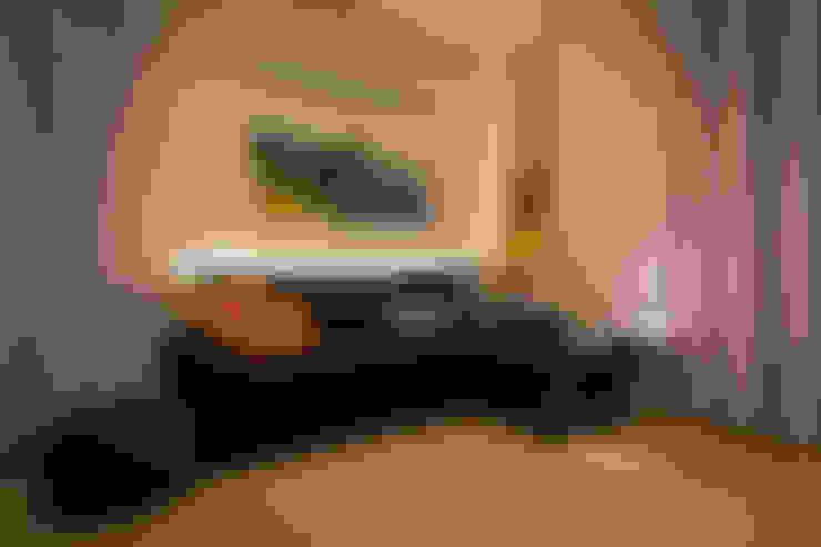 غرفة المعيشة تنفيذ davide pavanello _ spazi forme segni visioni