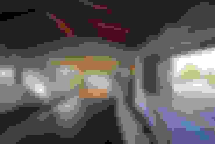早田雄次郎建築設計事務所/Yujiro Hayata Architect & Associates의  거실