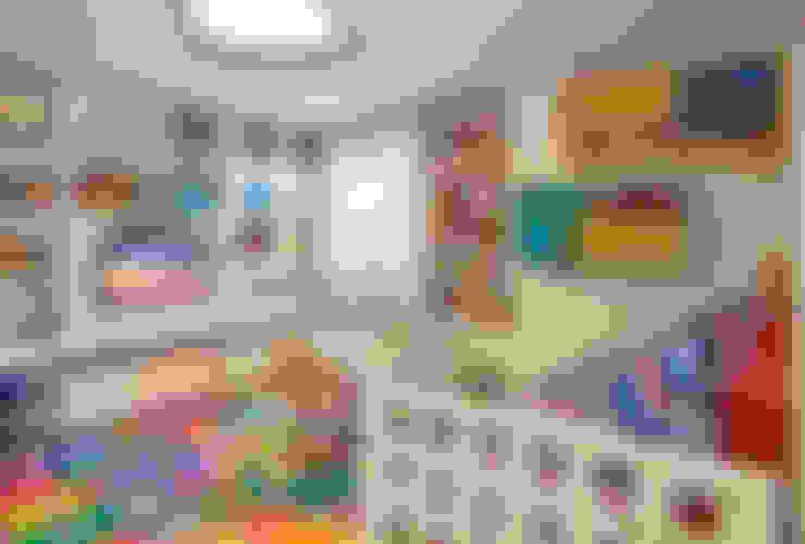 غرفة الاطفال تنفيذ Juliana Goulart Arquitetura e Design de Interiores