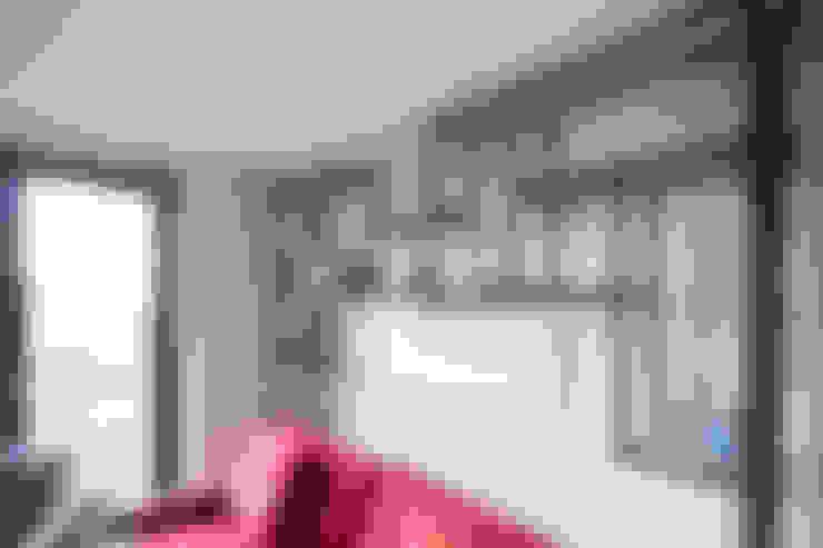 Salas / recibidores de estilo  por Railing London Ltd