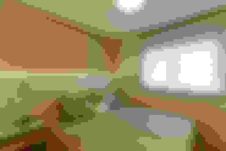 غرفة نوم تنفيذ RAFAEL SARDINHA ARQUITETURA E INTERIORES