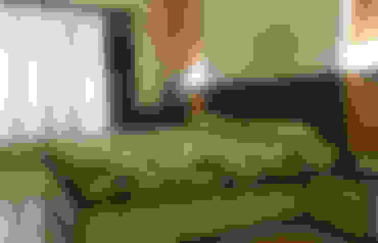 Dormitorios de estilo  por UNIQUE DESIGNERS & ARCHITECTS
