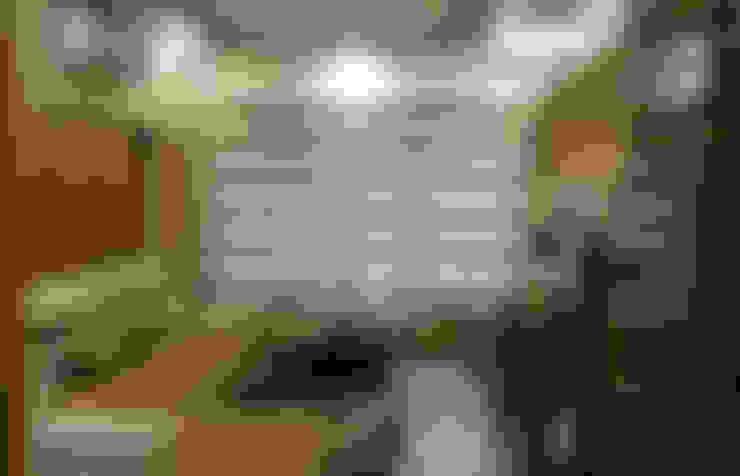 Salas / recibidores de estilo  por UNIQUE DESIGNERS & ARCHITECTS