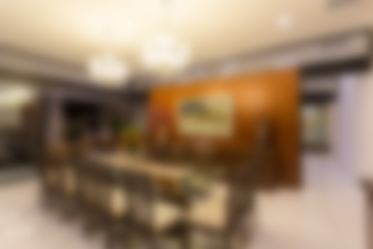 غرفة السفرة تنفيذ P11 ARQUITECTOS