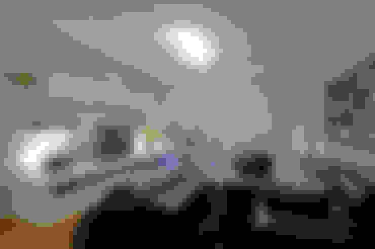 غرفة الميديا تنفيذ Patrícia Azoni Arquitetura + Arte & Design