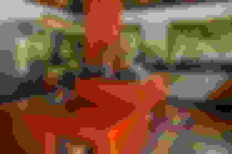 Cocinas de estilo  por CAMILA FERREIRA ARQUITETURA E INTERIORES