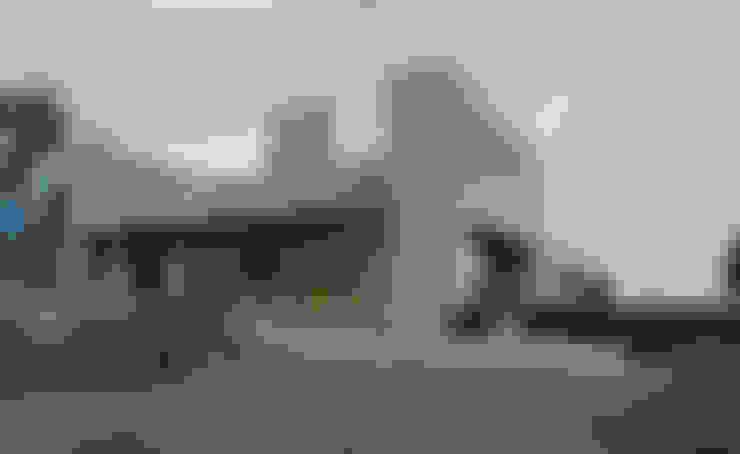 Casa IQ: Casas de estilo  por AMR ARQUITECTOS