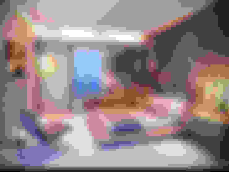 Dormitorios de estilo  por Giovanna Castagna Arquitetura Interiores