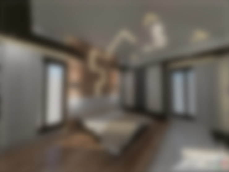 غرفة نوم تنفيذ single pencil architects & interior designers
