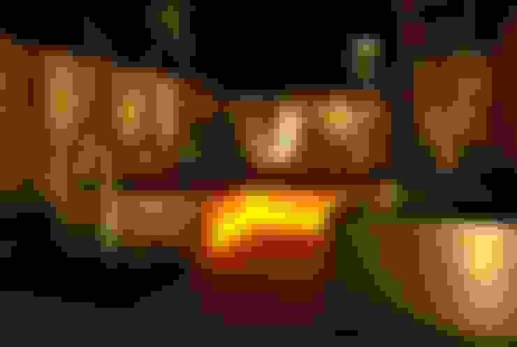 حديقة تنفيذ Akasha espacios iluminados