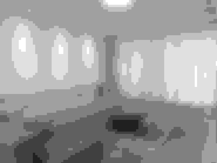 Apartamento em Divinópolis - MG: Salas de estar  por Filipe Castro Arquitetura | Design