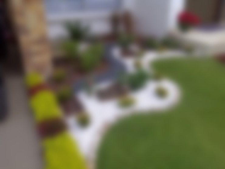 Jardines de estilo  por Jardines Paisajismo Y Decoraciones Elyflor