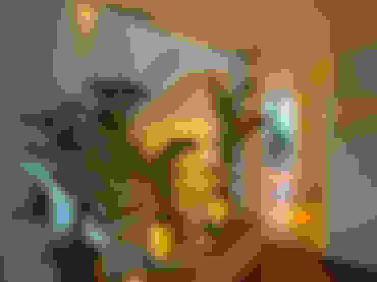 Pasillos y hall de entrada de estilo  por Alfagrama estudio