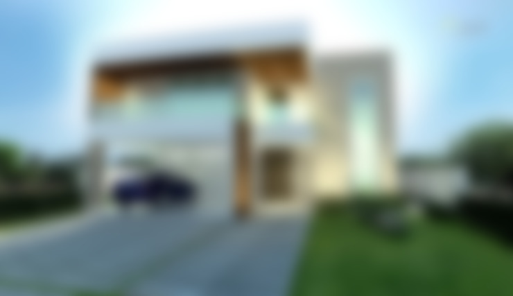 Casas de estilo  por TOAR Arquitetura