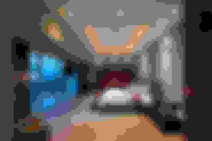 Dormitorios de estilo  por ARCO Arquitectura Contemporánea