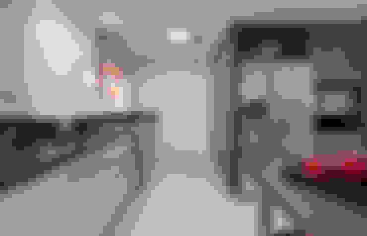 APARTAMENTO RLO: Cozinhas  por Isadora Brzezinski Arquitetura