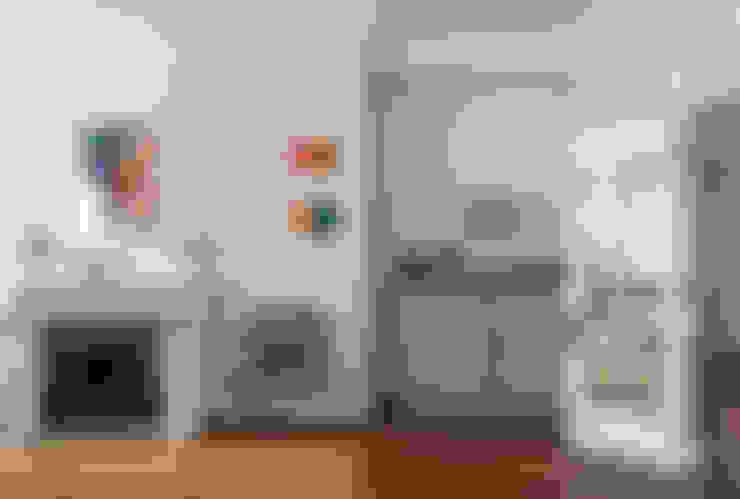 Salas de estar  por Nash Baker Architects Ltd