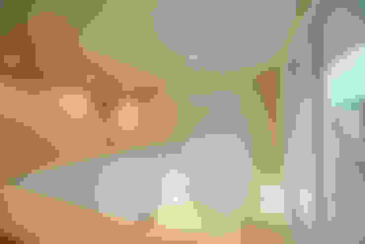 광명주택: IDÉEAA _ 이데아키텍츠의  복도 & 현관