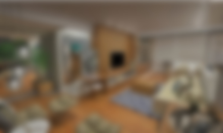 Sala integrada: Salas de estar  por Atelier Par Deux