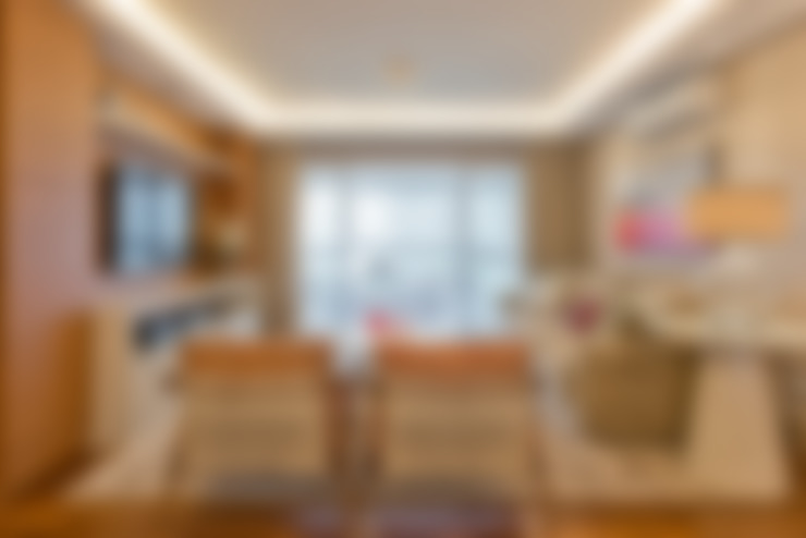 Residência Água Verde L&O: Salas de estar  por VL Arquitetura e Interiores