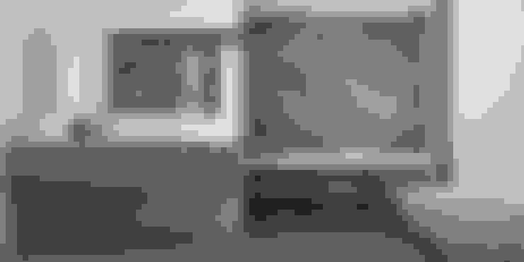 """""""Чистота линий""""- ванная  от студии Елены Пономаренко """"Vitta-group"""".: Ванные комнаты в . Автор – VITTA-GROUP"""
