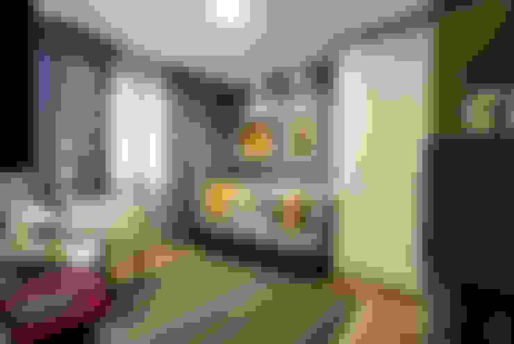Estúdio HL - Arquitetura e Interiores :  tarz Çalışma Odası