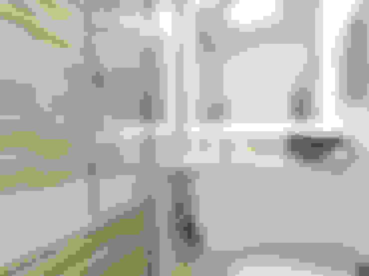 Визуализация: квартира в Петербурге : Ванные комнаты в . Автор – OK Interior Design