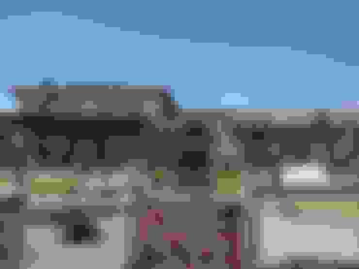 Casas de estilo  por Azcona Vega Arquitectos