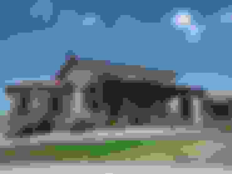 Vivienda en Algodon Wine Estates - Lote E12: Casas de estilo  por Azcona Vega Arquitectos
