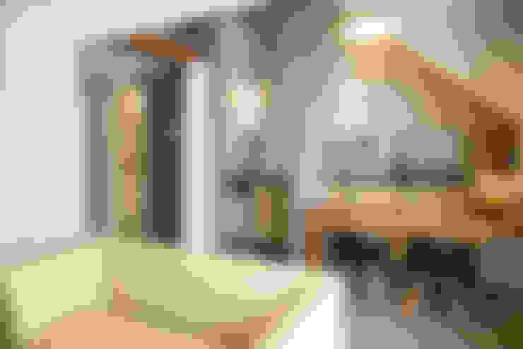 LOFT VOVÔ: Salas de estar  por MEIUS ARQUITETURA