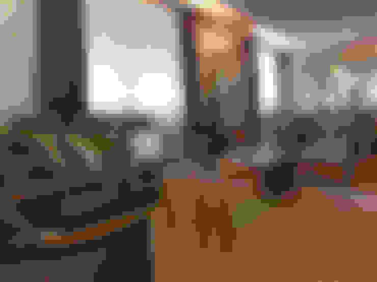 Reforma de Apartamento: Salas de estar  por MBDesign Arquitetura & Interiores