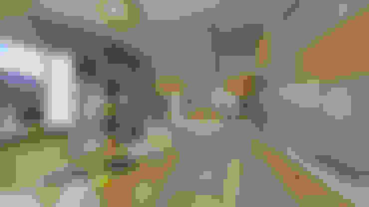 Renders Cocina: Muebles de cocinas de estilo  por Arquitecto Manuel Daniel Vilte