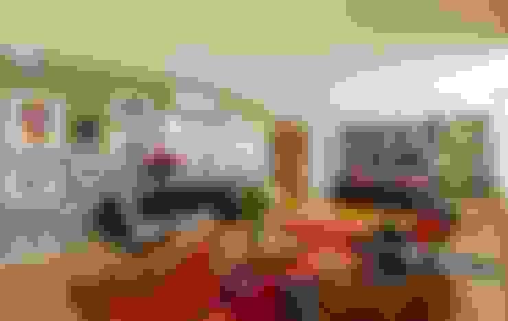 sala de estar e sala de tv: Salas de estar  por acr arquitetura