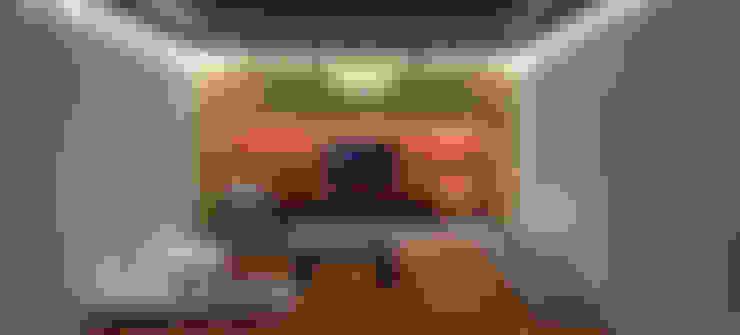 living room: Sala de estar  por @idearprojecao