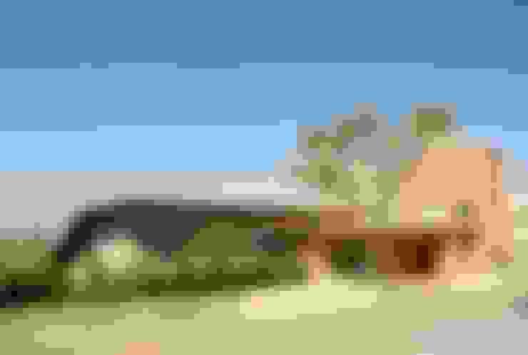 Casas de estilo  por Flavio Vila Nova Arquitetura