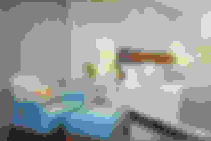 غرفة نوم تنفيذ Débora Noronha Arquitetura