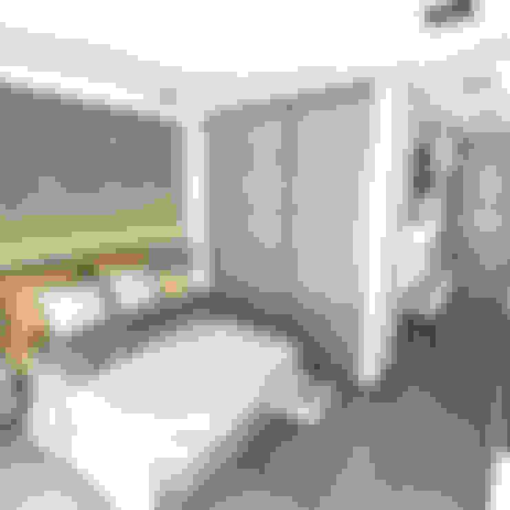 Habitaciones de estilo  por FILIPPIS/DIP - DISEÑO Y CONSTRUCCION