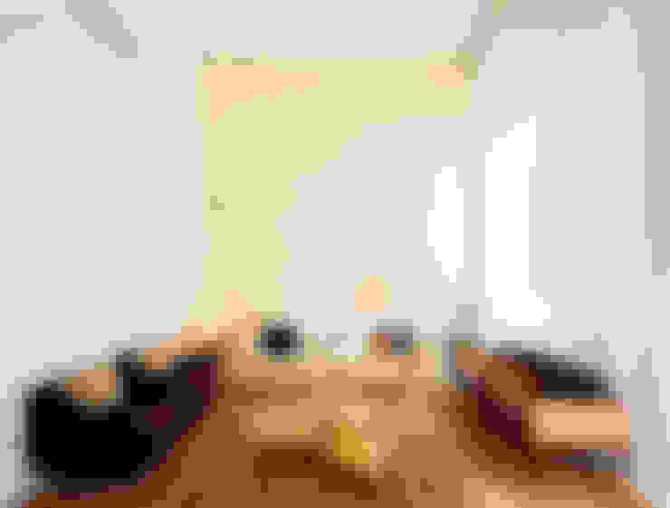 Apartamento Alto de Pinheiros: Salas de estar  por Alice Martins Flávio Butti
