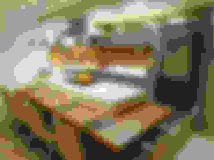 مطبخ تنفيذ Marina Turnes Arquitetura & Interiores