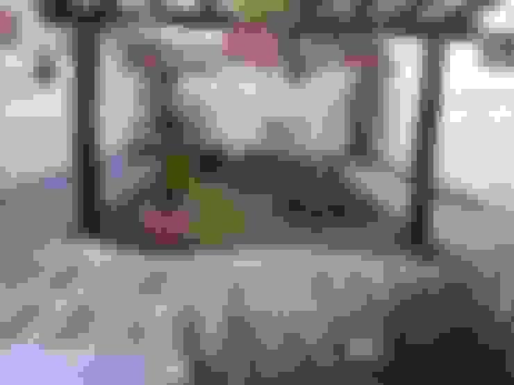Jardin de style  par Borges Arquitetura & Paisagismo