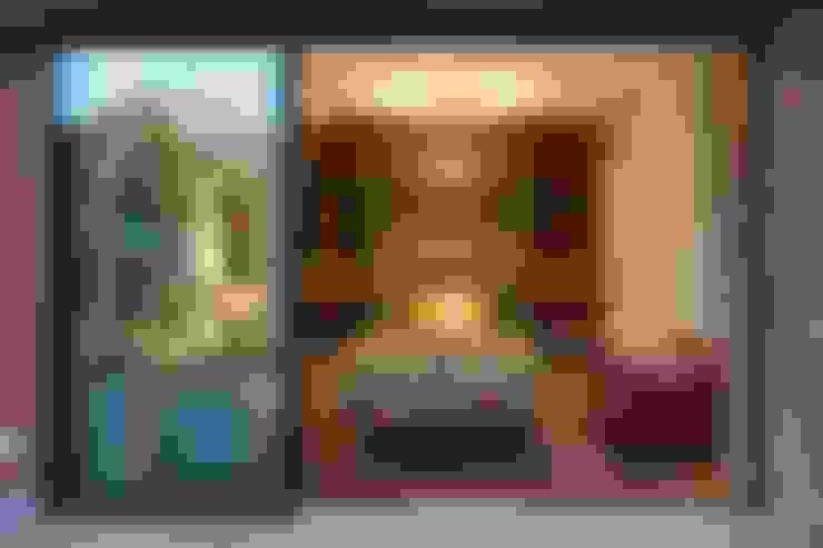 Salas / recibidores de estilo  por DLPS Arquitectos