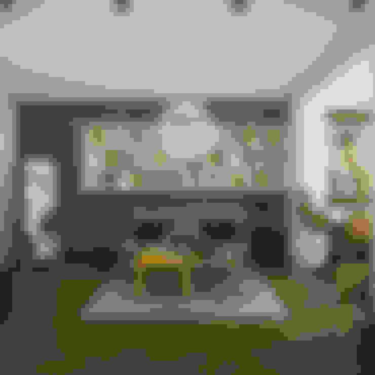 Очень старый проект): Гостиная в . Автор – 3D GROUP
