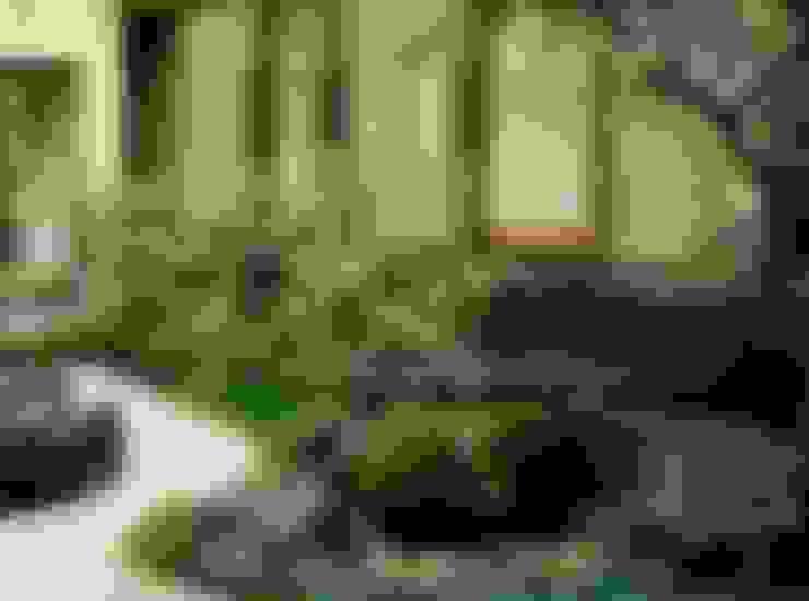 Jardins  por Enatsu Garden Architect / 江夏庭苑事務所