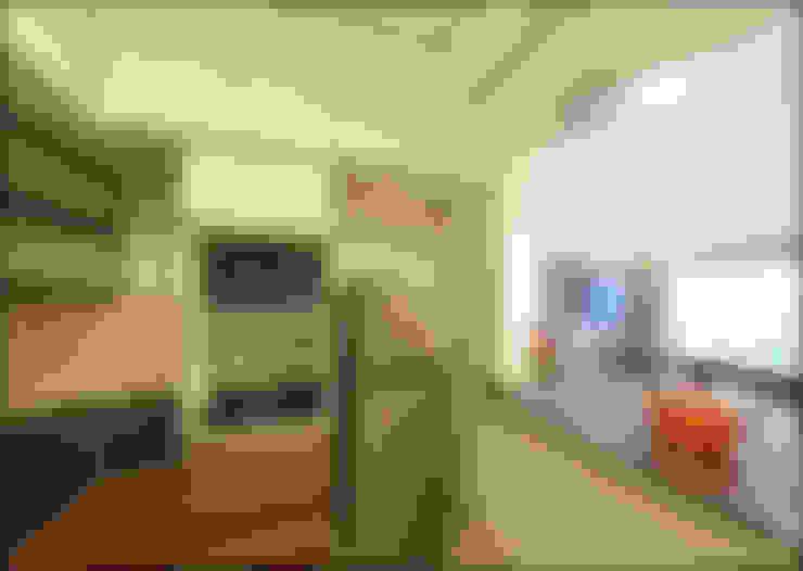 Built-in kitchens by Uncut Design Lab