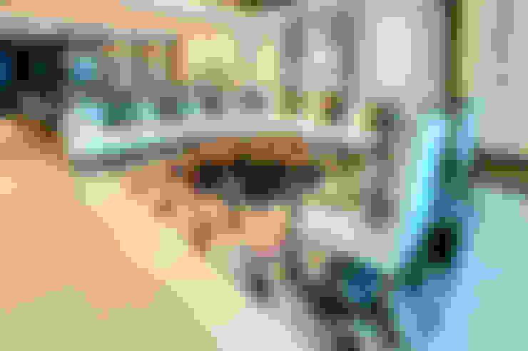 Salas / recibidores de estilo  por Art.chitecture, Taller de Arquitectura e Interiorismo 📍 Cancún, México.